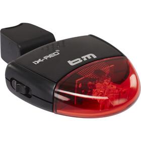 Busch + Müller IX-RED Batterie-Rücklicht schwarz/rot
